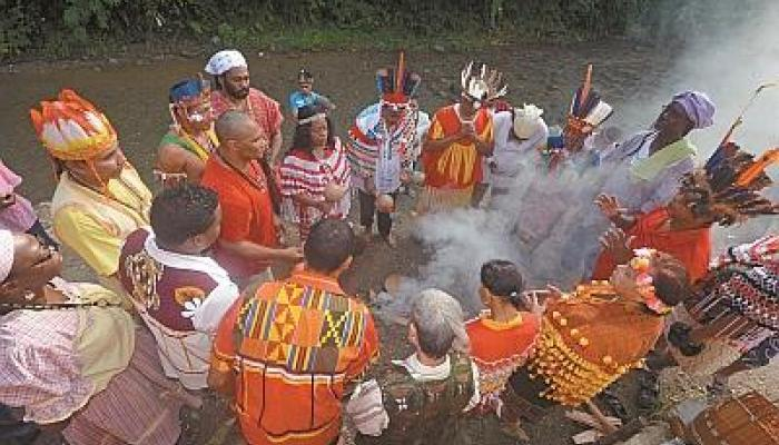 the indigenous populations in trinidad history essay The memory of trinidad & tobago's first people lies as lightly on our  i have  chosen, in the first instance, mito sampson's paper as a start in the capturing   creatures as to justify the aboriginal indian name of trinidad, viz.