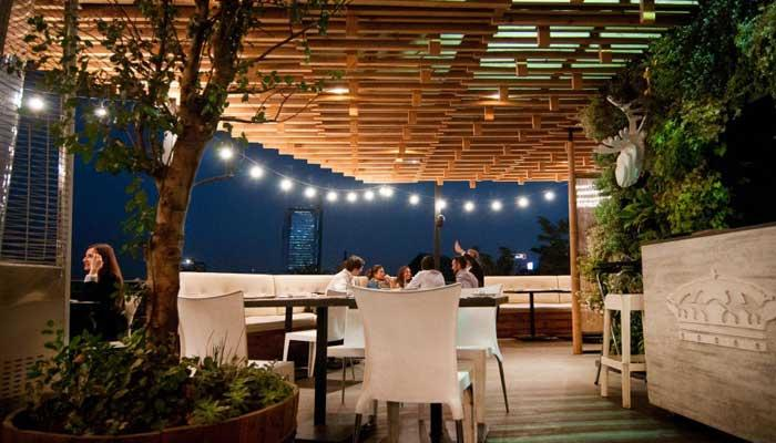 Santiago de chile visto desde sus terrazas panamericanworld - Terrazas en azoteas ...