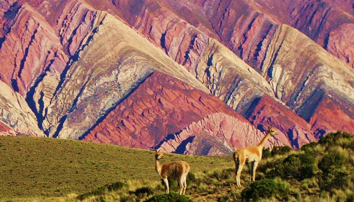 Quebrada de humahuaca abrazos a monta as de mil colores for De mil colores